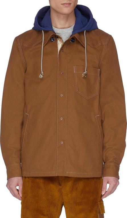 Acne Studios 'Otto' contrast hood jacket