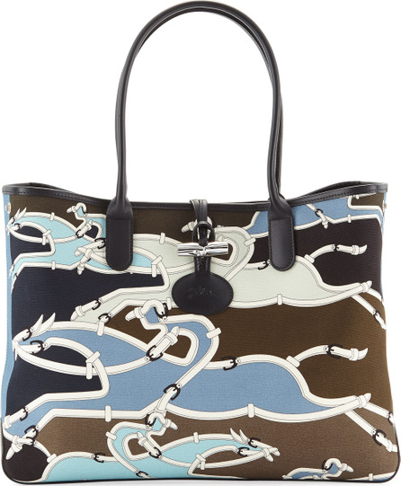 Longchamp Roseau Galop Tote Bag