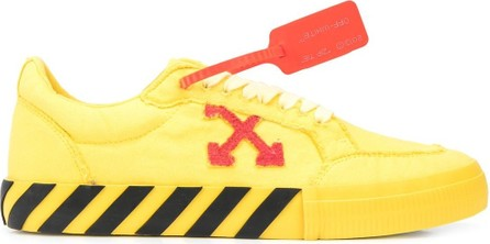 Off White Vulcanized low-top sneakers