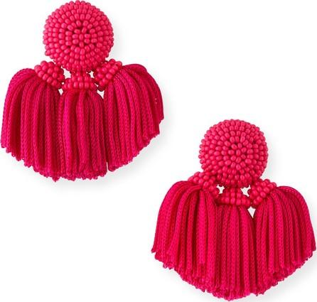 Sachin & Babi Mini Cha Cha Clip-On Tassel Earrings