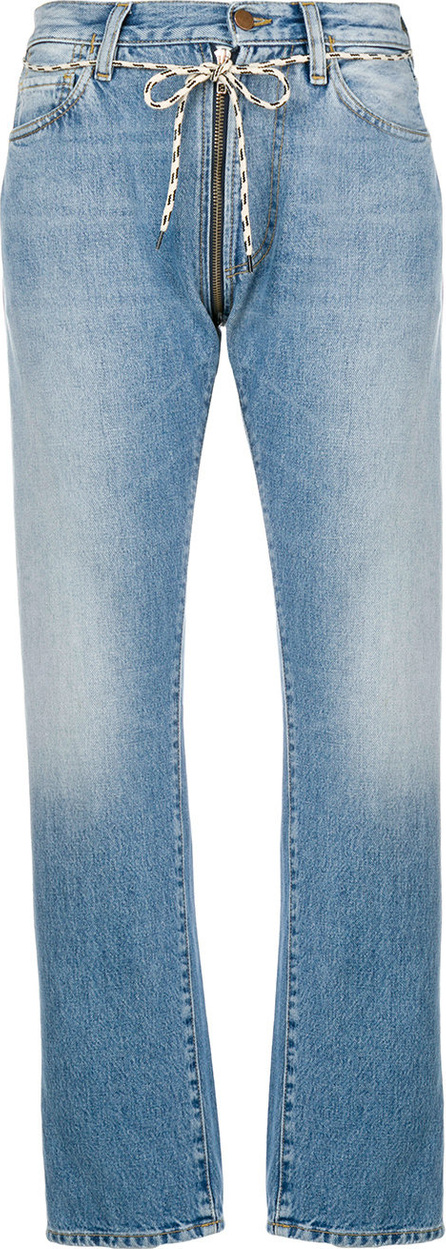 Aries Lilly zip jeans
