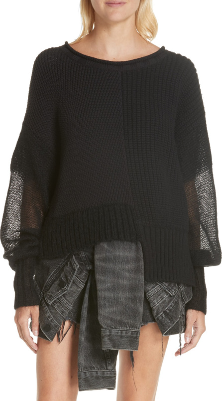T By Alexander Wang Mix Knit Sweater