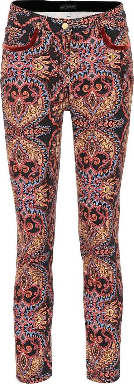 Etro Paisley cotton-blend pants