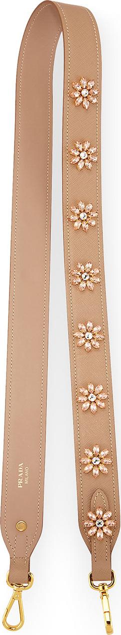 Prada Jeweled Saffiano Strap for Handbag