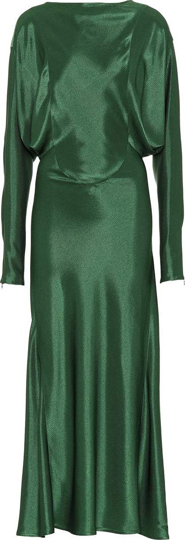 Victoria Beckham Draped midi dress