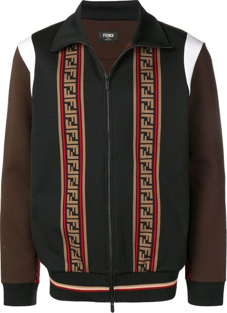 Fendi color-block bomber jacket