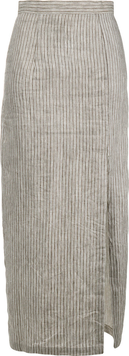 Mara Hoffman Polly front slit pencil skirt