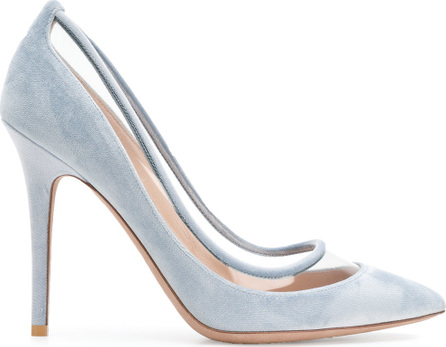 Valentino Clear panel pumps