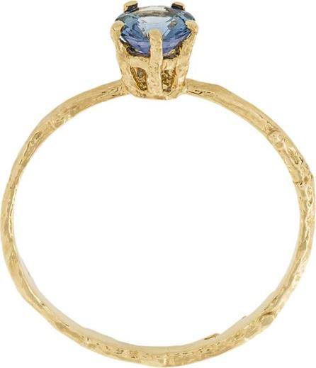 Alex Monroe pale blue sapphire Eyebright ring