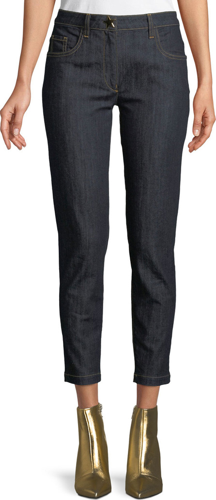 Boutique Moschino Straight-Leg Ankle Jeans