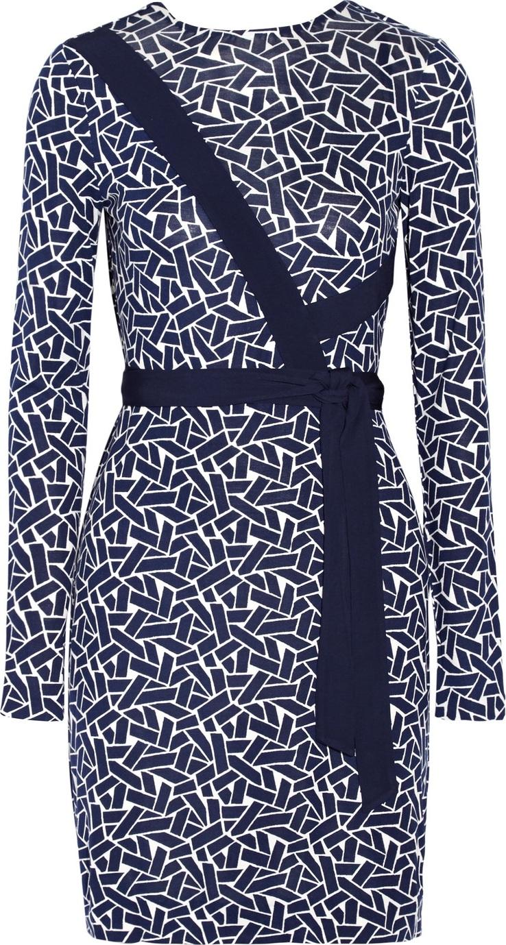 DIANE von FURSTENBERG - Vienna reversible printed silk-jersey wrap dress