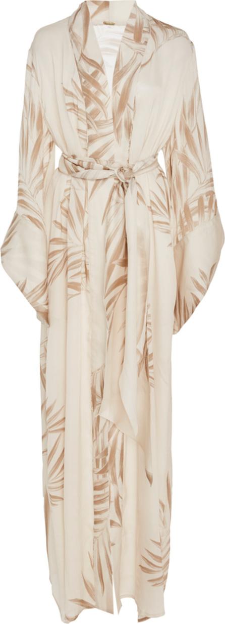 Johanna Ortiz Buena Vista Printed Silk Kimono