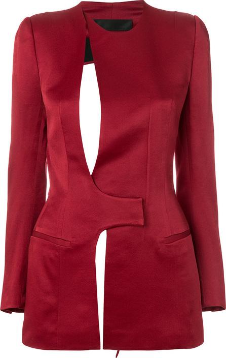 Haider Ackermann Cut-out detail jacket