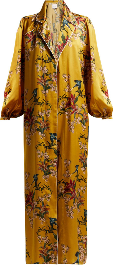 Johanna Ortiz The Flower Queen silk robe