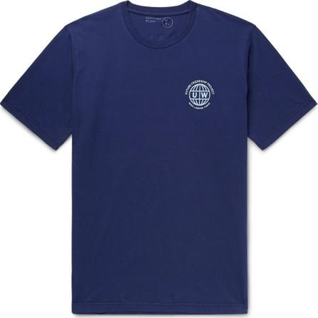Universal Works Logo-Print Cotton-Jersey T-Shirt