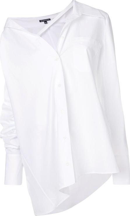 Ann Demeulemeester Asymmetric neckline shirt