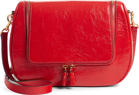Anya Hindmarch Small Vere Lambskin Leather Crossbody Satchel
