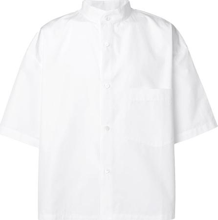 Hed Mayner Short-sleeve structured shirt