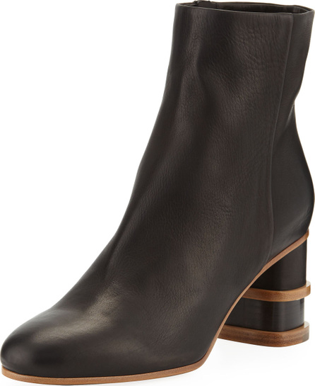 Gabriela Hearst Miguel Two-Tone Booties