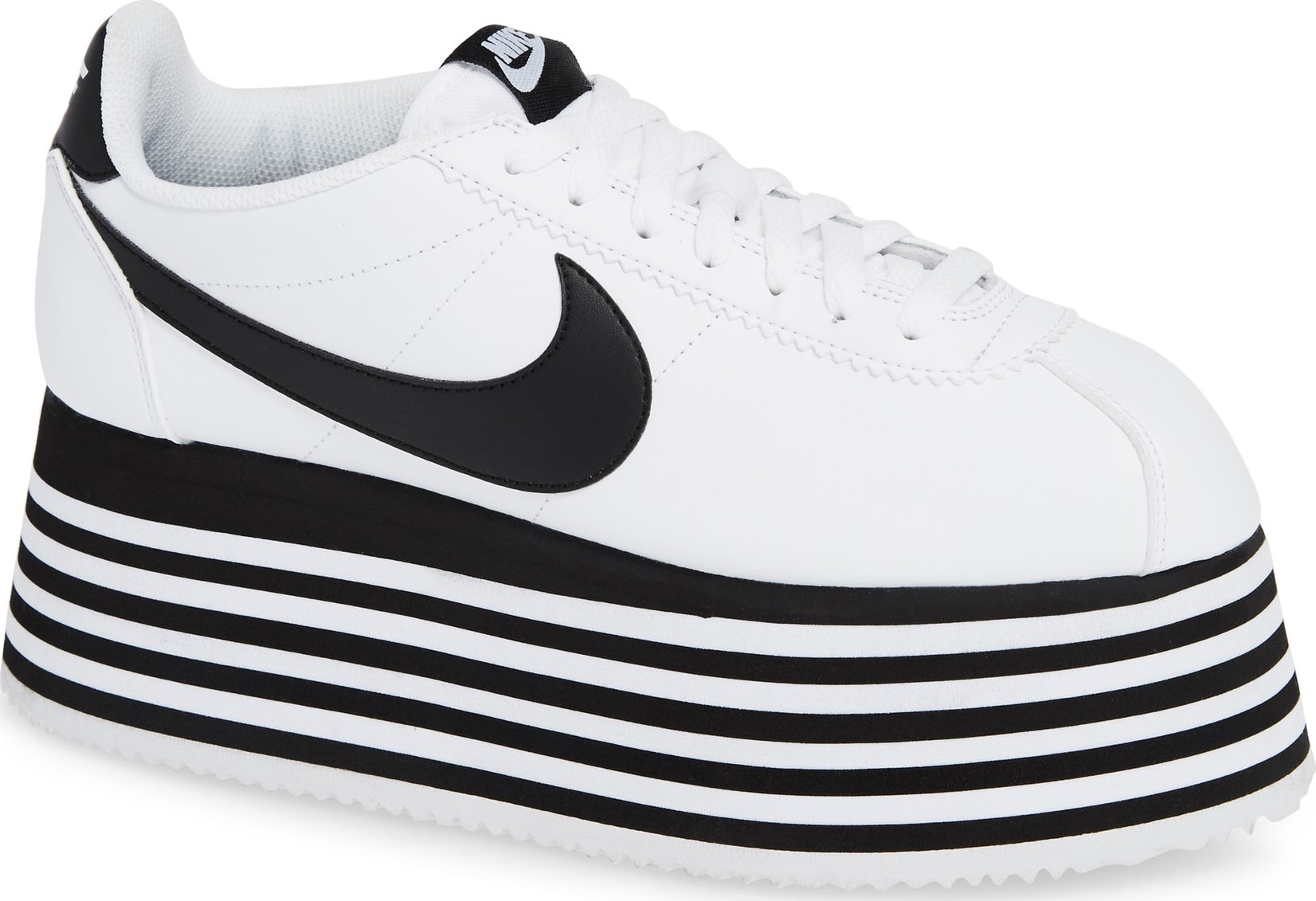 cheap for discount bb22a 86ff7 Comme Des Garcons x Nike Cortez Platform Sneaker - Mkt