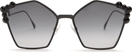 Fendi Can Eye embellished-sunglasses