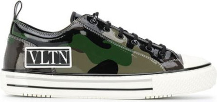 Valentino VLTN camouflage low-top sneakers