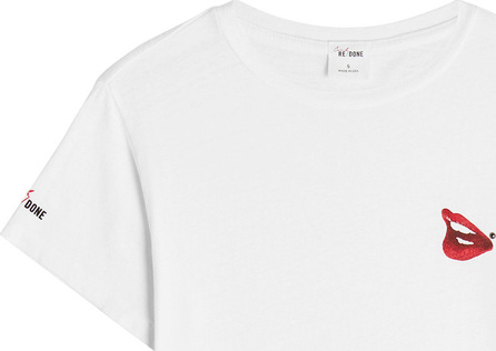 RE/DONE Cindy Crawford Cotton T-Shirt