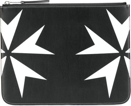 Neil Barrett Maltese cross inspired pouch