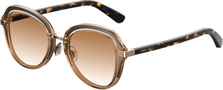 Jimmy Choo Drees Gradient Butterfly Sunglasses