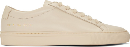 Woman by Common Projects Pink Original Achilles Low Sneakers