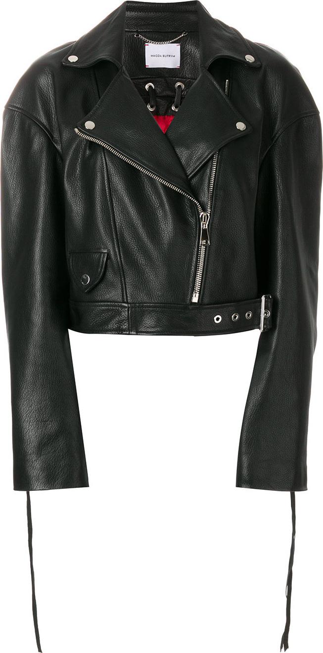 Magda Butrym - Cropped biker jacket