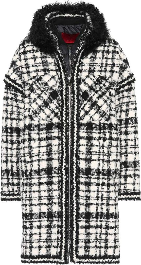 Moncler Gamme Rouge - Ludmilla shearling-trimmed coat
