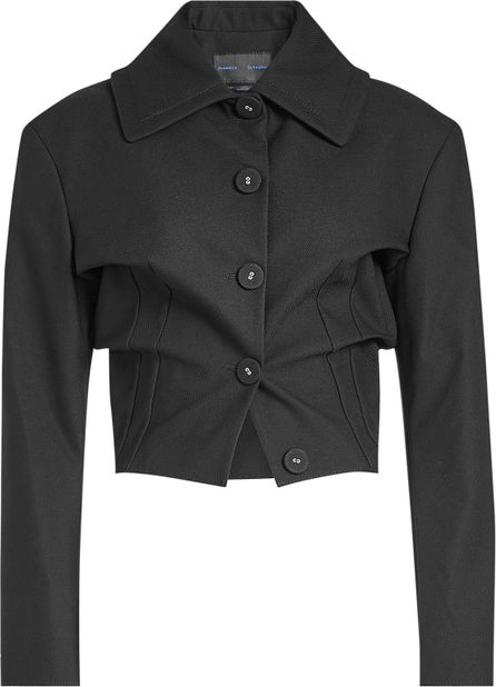 Proenza Schouler Cropped Jacket with Cotton
