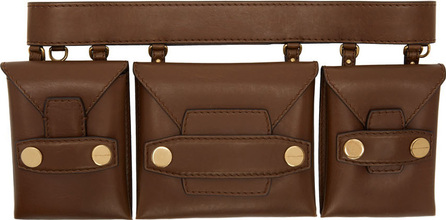 Stella McCartney Brown Utility Belt