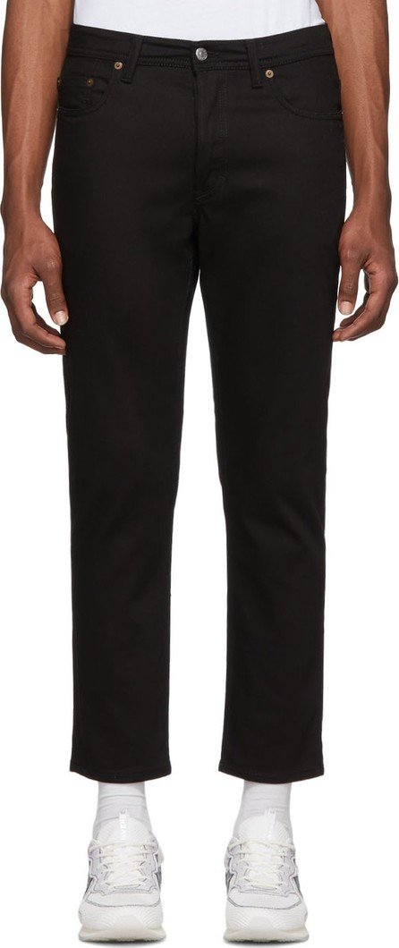 Acne Studios Black Blå Konst River Jeans