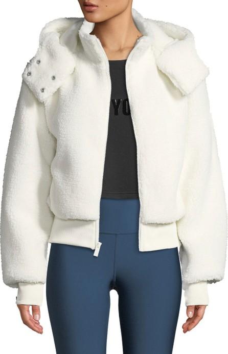 Alo Yoga Foxy Sherpa Hooded Active Jacket