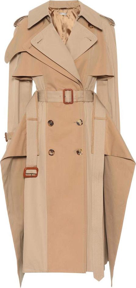 Alexander McQueen Deconstructed cotton trench coat
