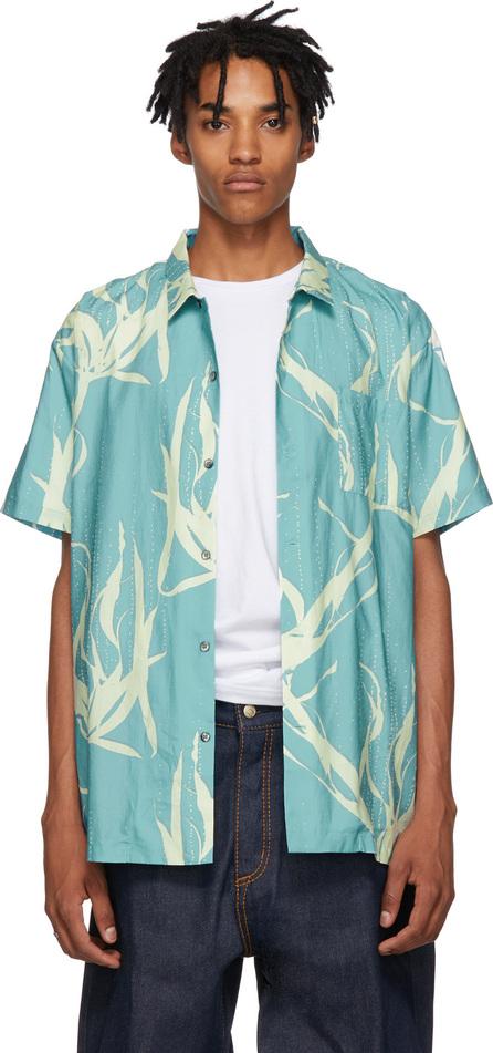 Double Rainbouu Blue Sound Garden Hawaiian Shirt