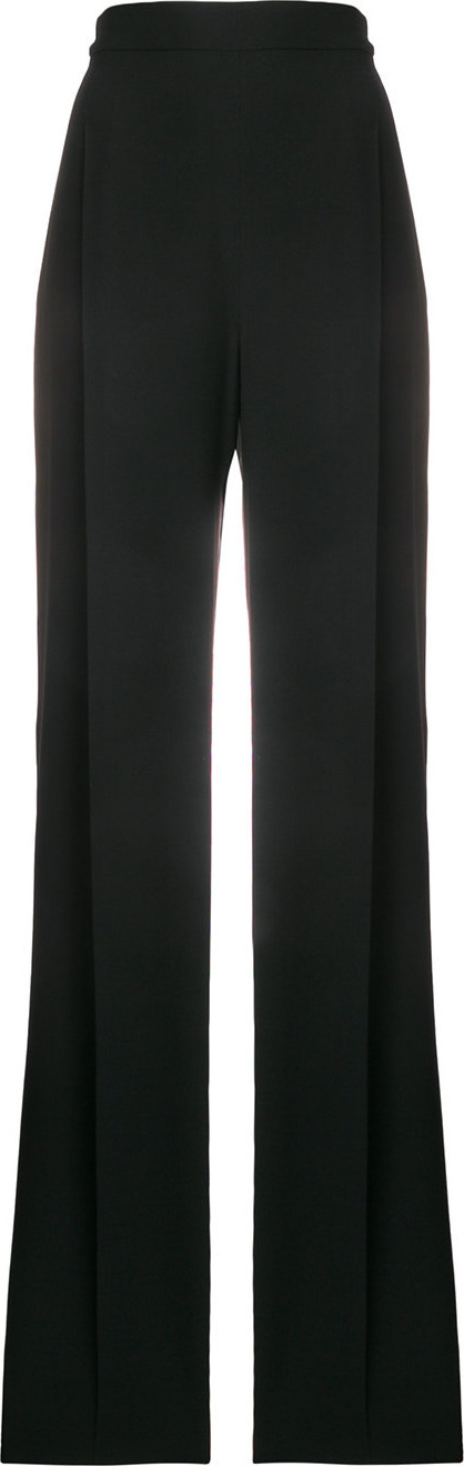 Max Mara Crepe wide leg trousers