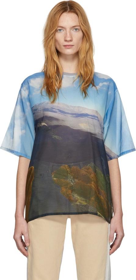 Bless Multicolor Silk Volcano T-Shirt