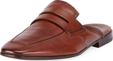 Berluti Kangaroo Leather Slip-On Loafer Mule