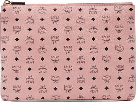 MCM Medium Logo Crossbody Pouch Bag