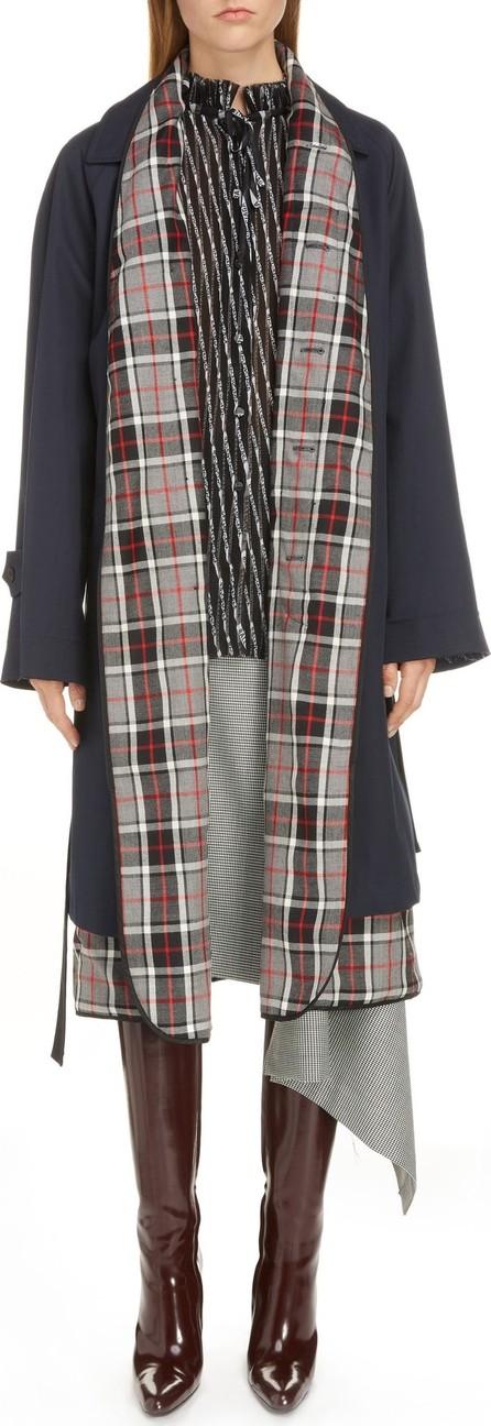 Balenciaga Layered Trench Coat