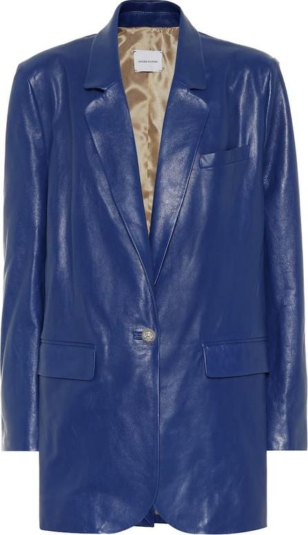 Magda Butrym Ottawa leather blazer