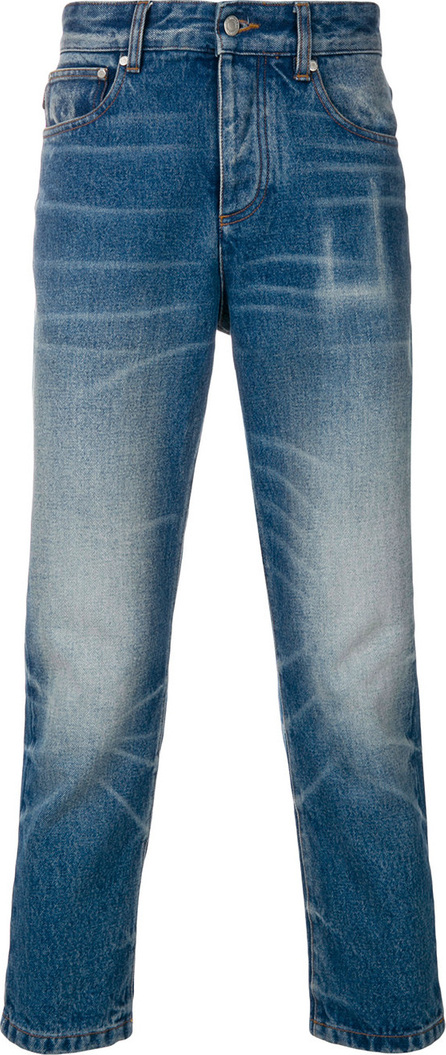 AMI 5 Pocket Cropped Jeans