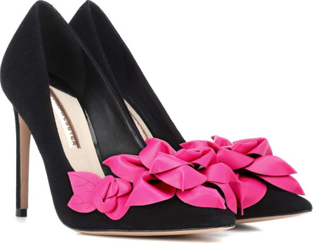 Sophia Webster Exclusive to Mytheresa – Jumbo Lilico suede and leather pumps