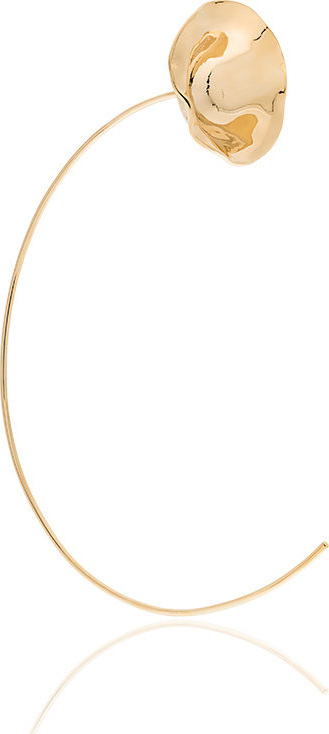 Beaufille 10k yellow gold plated Ripple earring