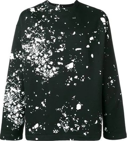 Oamc splatter print sweatshirt