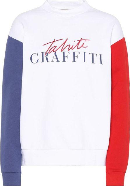Etre Cecile Tahiti printed cotton sweatshirt