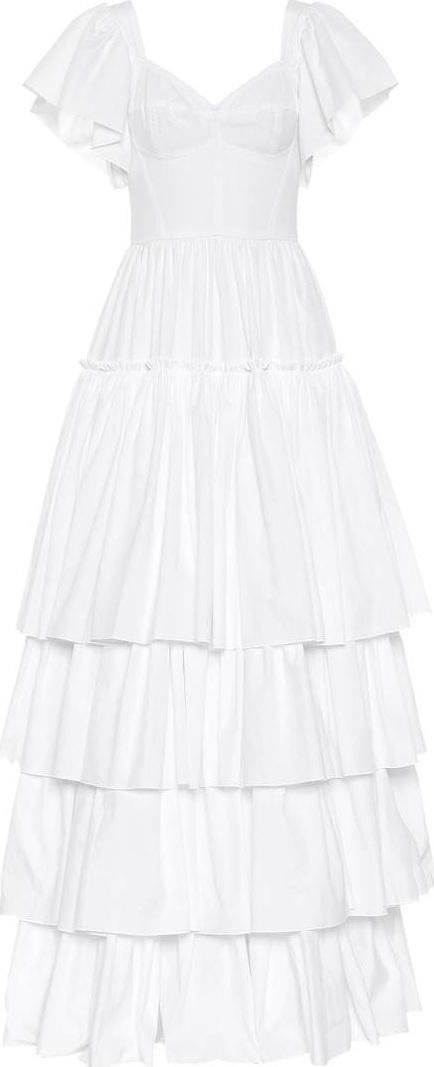 Dolce & Gabbana Tiered cotton dress